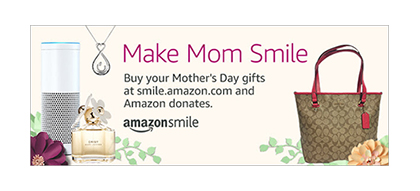 Mother's Day with Amazon.com banner