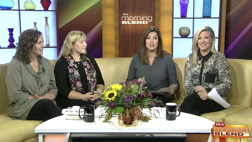 """Laura Owens & Jenny Lichte on WTMJ Milwaukee's """"The Morning Blend"""""""