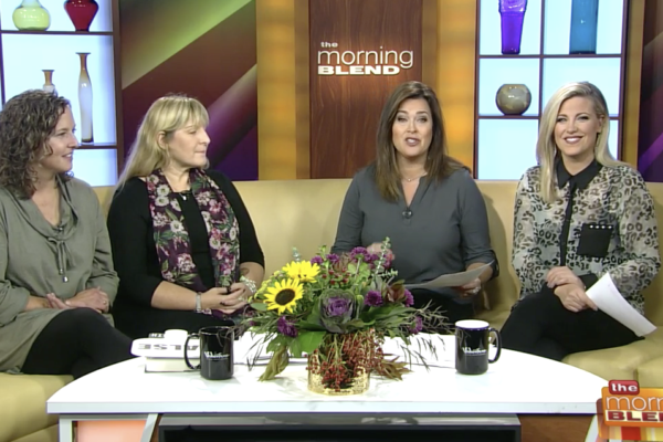"Laura Owens & Jenny Lichte on WTMJ Milwaukee's ""The Morning Blend"""