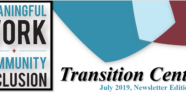 Transition Center's Newsletter Edition #3