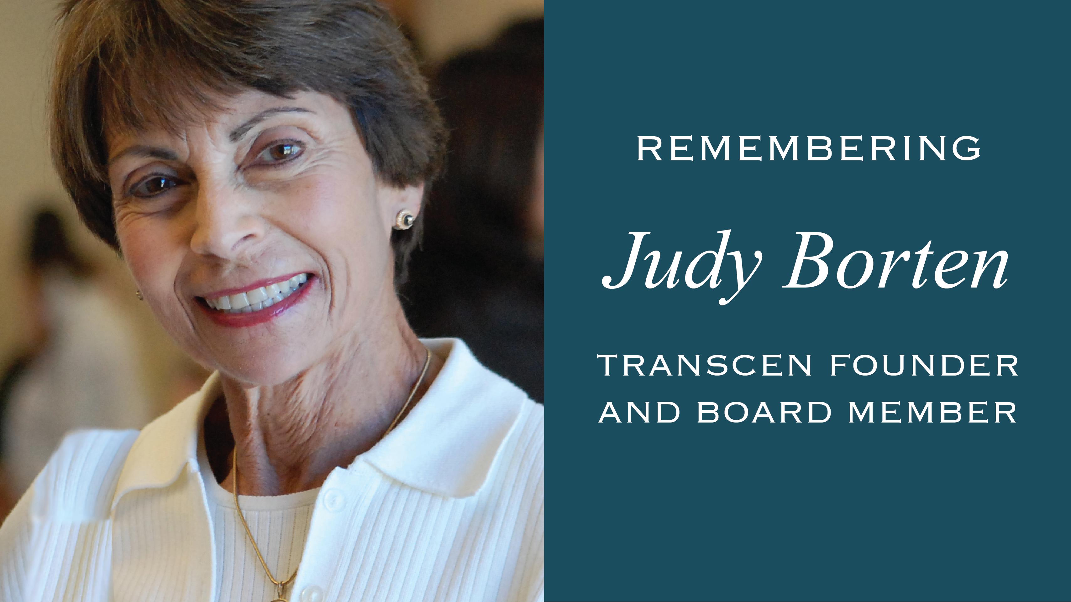 Remembering Judy Borten