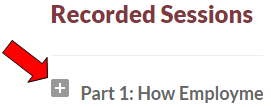 How to access the recorded session